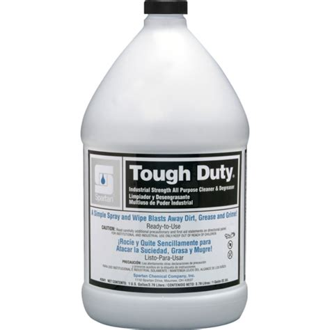 american paper twine co spartan tough duty cleaner degreaser