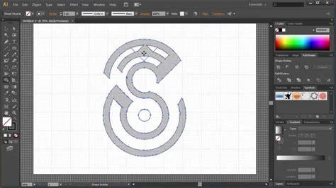 illustrator draw undo how to make logo in illustrator speed letter s design