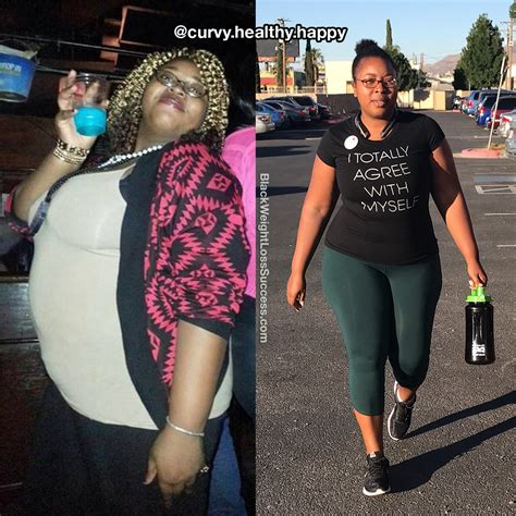 precious lost  pounds black weight loss success