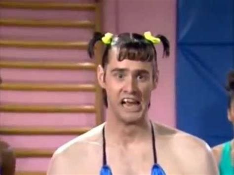 jim carrey on in living color vera de milo workout jim carey in living