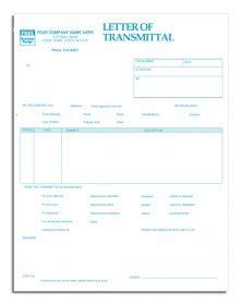 Transmittal Letter Que Es letters of transmittal forms print ez