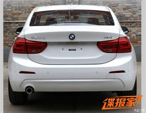 bmw in china new photos of 2017 bmw 1 series sedan for china will get