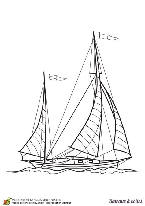dessin d un bateau à voile coloriage d un bateau 224 voiles un voilier moderne