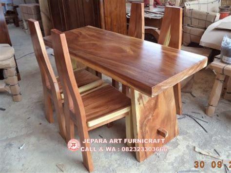 Kursi Kayu Trembesi dijual murah meja makan trembesi kursi antik a murah