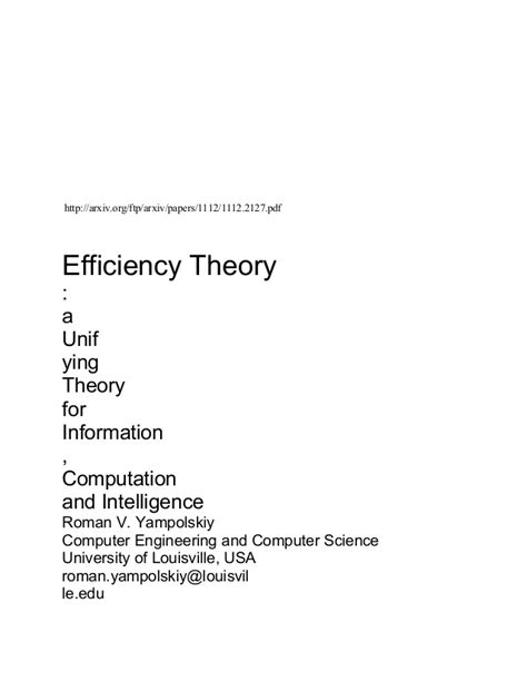 Efficiency Wage Theory Essay by Theories