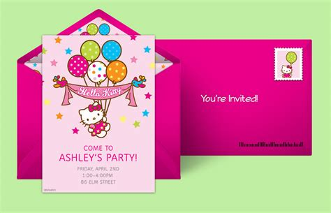hello birthday card template free free hello invitations hello invitations punchbowl