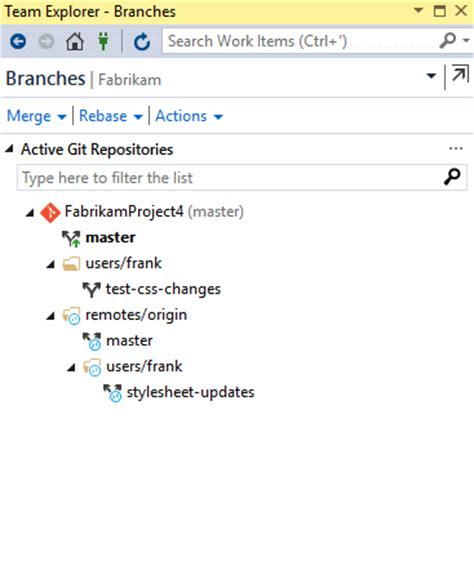 git tutorial how to create and delete a branch in your git repo microsoft docs