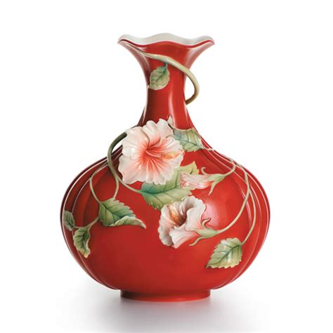 Franz Vase Collection by Franz Collection Hibiscus Quot Island Quot Vase
