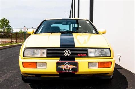 volkswagen corrado supercharged 1990 volkswagen corrado g60 supercharged
