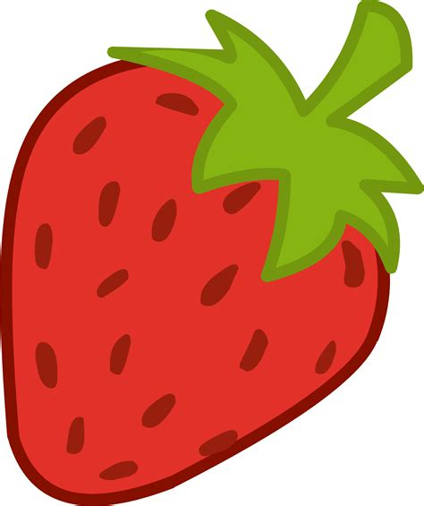 cartoon clipart strawberry pencil and in color cartoon clipart strawberry
