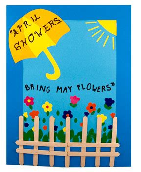 april showers crafts bulletin boards hygloss