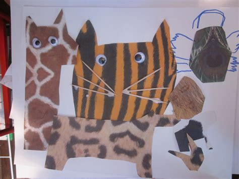 animal crafts for animal crafts make a mural using realistic looking animal