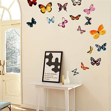 butterflies wall decals stickers appliques home decor