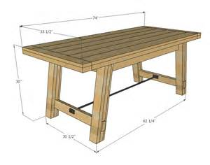 Pottery Barn Benchwright Dining Table Ana White Benchright Farmhouse Table Diy Projects