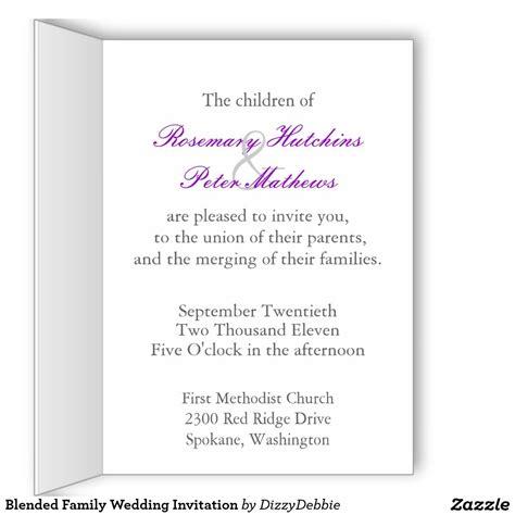 Family Invitation Card