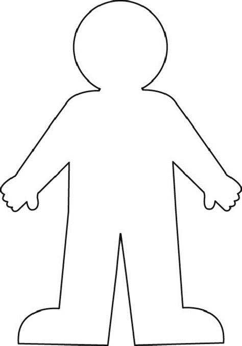 template drawing outline clipart many interesting cliparts