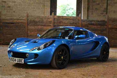 lotus elise touring lotus elise 111r touring laser blue hardtop great