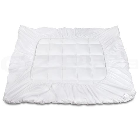 pillow top bed cover prime pillowtop mattress topper memory resistant protector