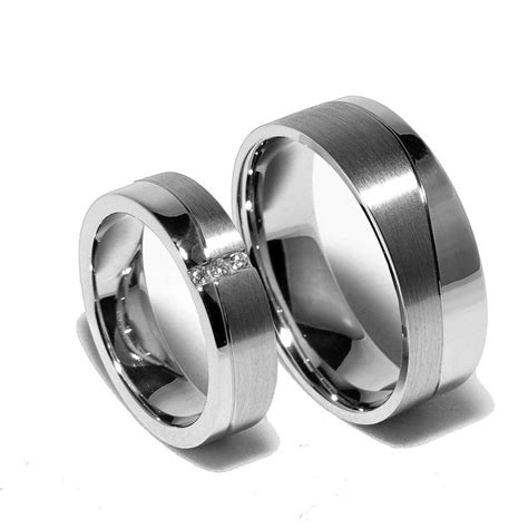matching sterling silver wedding bands promise rings