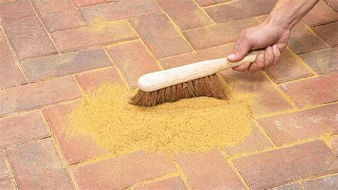 Patio Pavers Filler Brick Paving Driveway How To Create One Paving