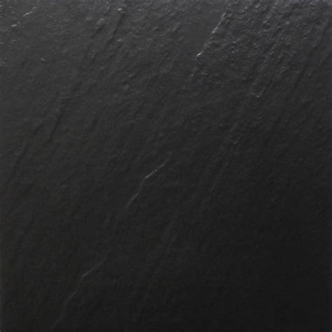 600x600mm Black Slate Look Full Bodied Porcelain Outdoor