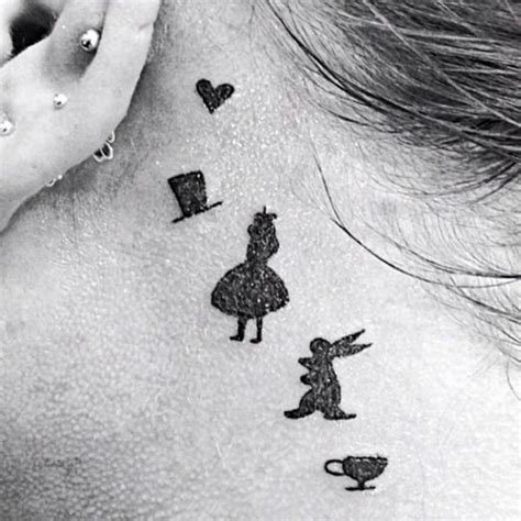 alice in wonderland tattoos small check out these awesome quot in quot tattoos