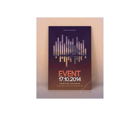 Modern Event Flyer Template Psd For Exhibition Curtural Event Photography Workshop Exhibition Flyer Template