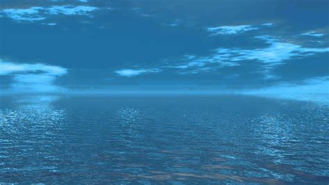 ocean sea water blue sky  copyright copyright  video motion graphics background