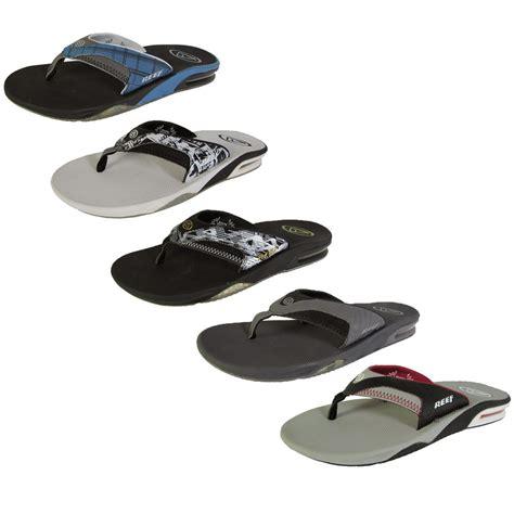 flip flop sandals reef mens fanning flip flop sandal shoes ebay