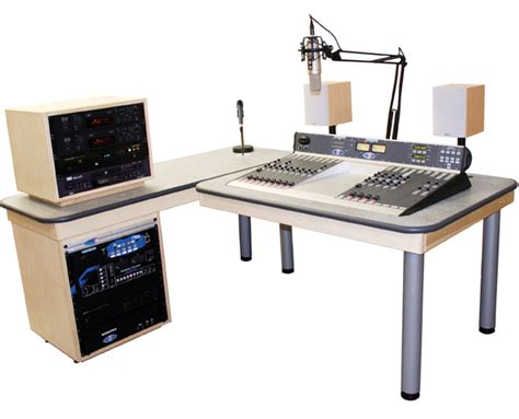 Radio Studio Desk by S2 Solutions Professional Studio Package 1
