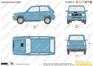 Fiat Panda Pdf The Blueprints Vector Drawing Fiat Panda 4x4