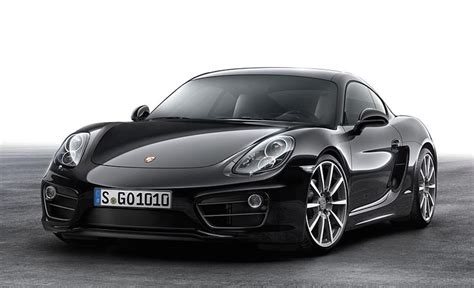 cayman porsche black lastcarnews official 2016 porsche cayman black edition