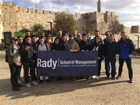 2018 Rady Mba Students by Study Abroad Opportunities For Rady School Students The