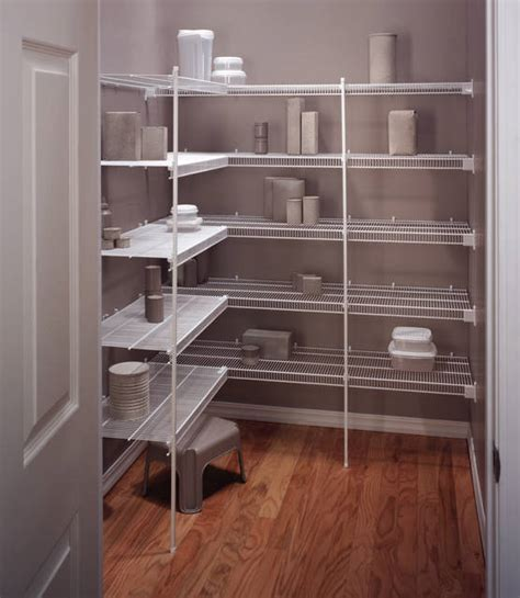 kitchen closet shelving ideas pantry shelving wire closet systems