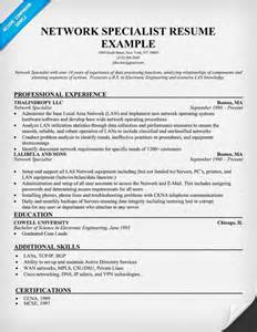 Network Specialist Sle Resume the world s catalog of ideas