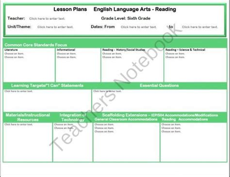 marzano lesson plan template 34 best images about marzano on vocabulary