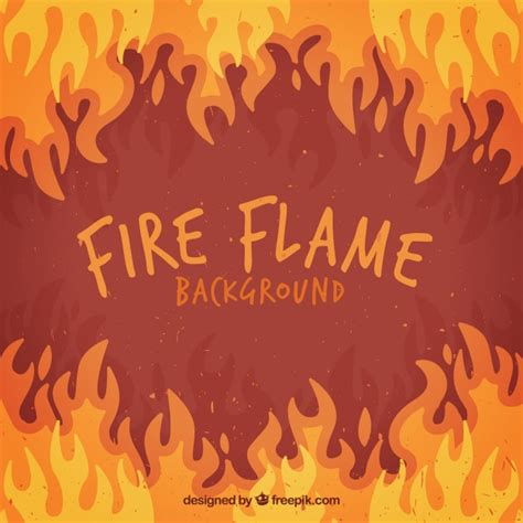 different color flames flat background of flames in different colors vector