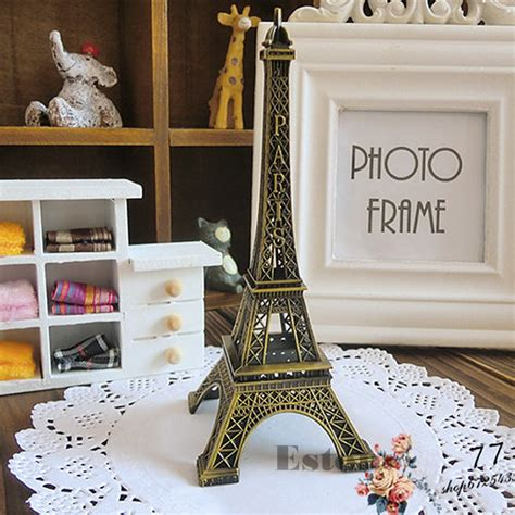 eiffel tower home decor home decor 15cm retro alloy bronze tone paris eiffel tower