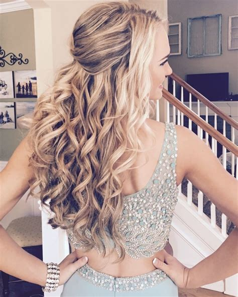cute homecoming hairstyles long hair 20 cute homecoming hairstyles 2018 homecoming hairstyle
