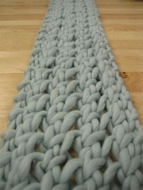 knitting pattern scarf thick wool nice scarf pattern knitting pinterest