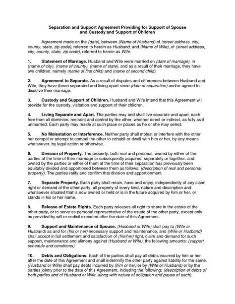 child custody agreement examples unique sample custody agreement
