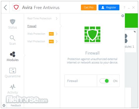 Anti Virus Avira avira free antivirus 15 0 36 139 for windows filehorse