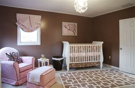 brown and pink nursery pink and brown mod nursery design dazzle