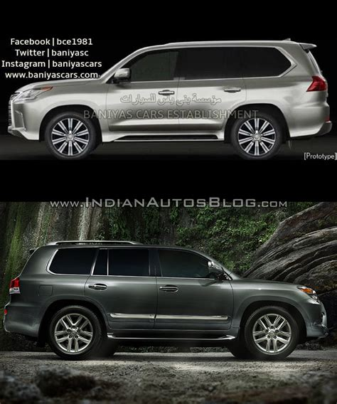 old lexus 2016 lexus lx570 vs 2014 lexus lx570 old vs new
