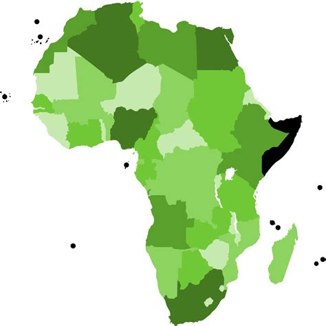 africa map clipart free vector map africa clipart best