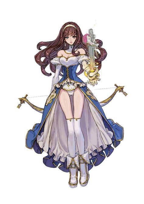 Alika Dress By Zhalfa mistwalker s terra battle is out now get kuscah as a healer until november 3rd siliconera
