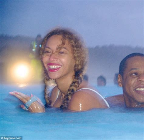 Sunset Reykjavik by Beyonce Flashes Cleavage In A As She Goes On The Run With Jay Z In Iceland For Romantic