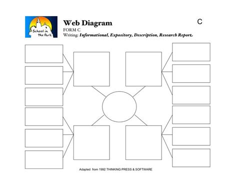 Graphic Organizers For Writing Expository Essays by Expository Writing Graphic Organizer Web Diagram 5th Grade Graphics Writing