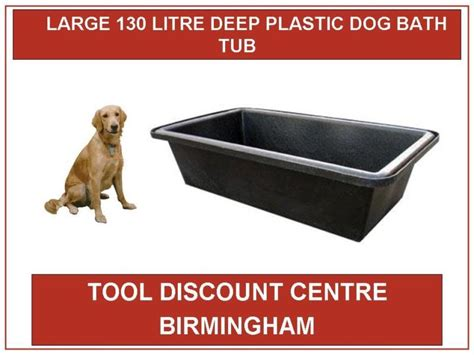 Aquatic Bathtubs by Large Large Deep Plastic Water Dog Bath Tub 130 Ltr