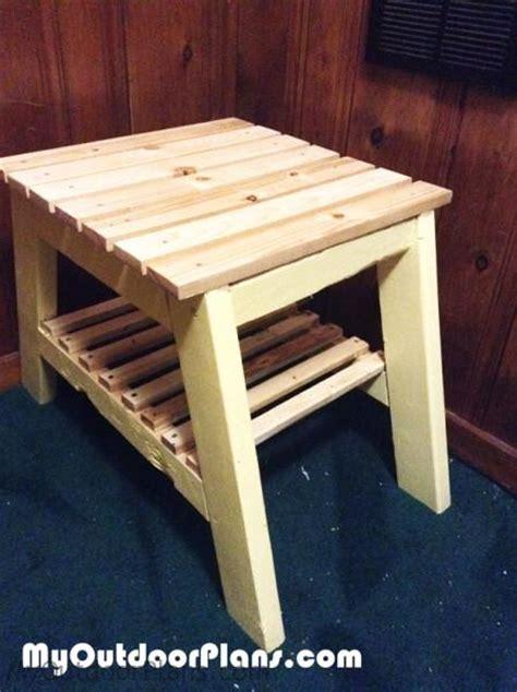 diy  table myoutdoorplans  woodworking plans